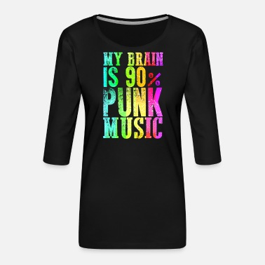 Roll Punk rock music punk rocker punks punk gift - Women's Premium 3/4-Sleeve T-Shirt
