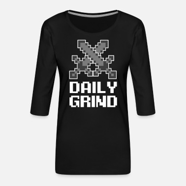 Video game, online gaming, video game, computer - Women's Premium 3/4-Sleeve T-Shirt