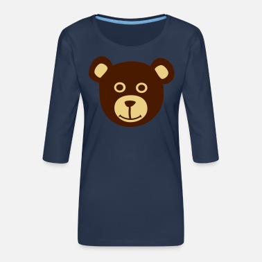 Bear Bear, Bears - Women's Premium 3/4-Sleeve T-Shirt
