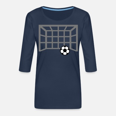 But De Football but de football - T-shirt Premium manches 3/4 Femme