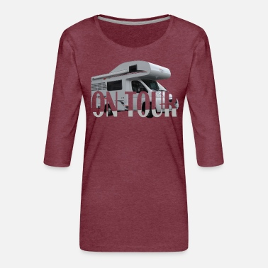 Tour on Tour - Women's Premium 3/4-Sleeve T-Shirt