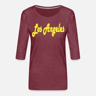 Los Angeles Los Angeles Design - Frauen Premium 3/4-Arm Shirt