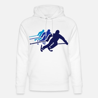 Area ski resort skies ski area skiing - Unisex Organic Hoodie
