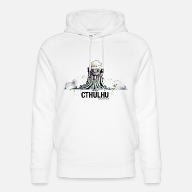 Cthulhu (HP Lovecraft) - Sudadera con capucha ecológica unisex