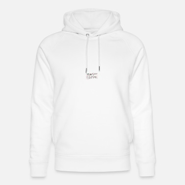 Trance Rave Love | Electro| Techno | Festival - Unisex Organic Hoodie