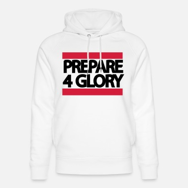 Cross Fit prepare4glory - Unisex luomu huppari