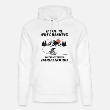 Biker Mountain biking bicycle off-road Bike MTB Gift - Unisex Organic Hoodie