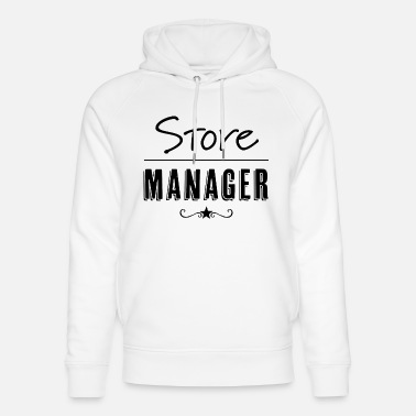 Sales Manager Store Manager - Unisex Organic Hoodie
