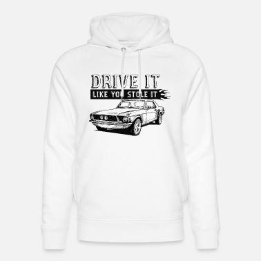 Drive It - Coupe - Unisex Organic Hoodie