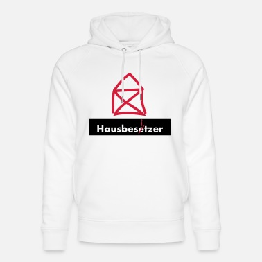 Squatters Squatters homeowner homeowners 2c - Unisex Organic Hoodie