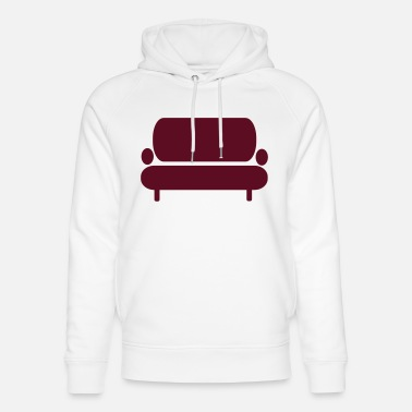 Couch Couch - Sofa - Unisex hoodie af økologisk bomuld