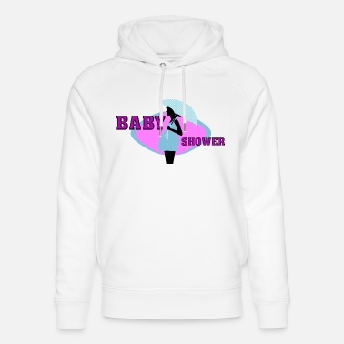 Baby Shower Sayings Baby Shower - Party - Unisex Organic Hoodie