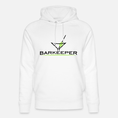 Coctail Bartender Coctail Glass (2c) - Unisex Organic Hoodie
