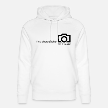 Photograph-jetzt-alle-mal I'm a photographer - Unisex Bio Hoodie