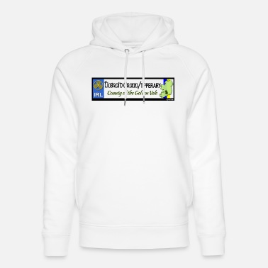 Tipperary TIPPERARY, IRELAND: licence plate tag style decal - Unisex Organic Hoodie