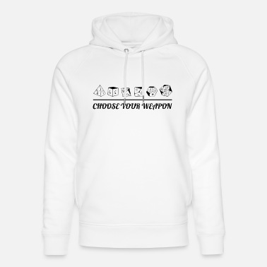 Rpg choose your weapon - RPG - RPG - Unisex Organic Hoodie