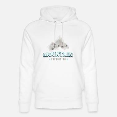 Expedition Mountain expedition - Unisex Organic Hoodie