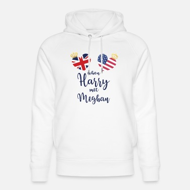 Royal Wedding Crown - Unisex Organic Hoodie