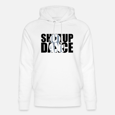Cool shut up and dance - Felpa con cappuccio ecologica unisex