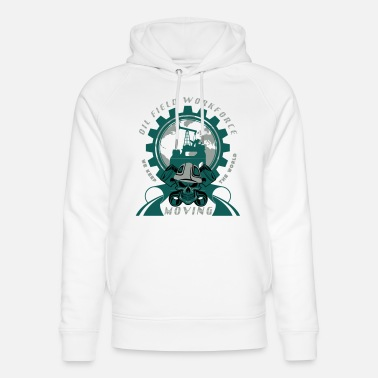 Oil Rig Oil Rig North Sea Aberdeen Scotland - Unisex Organic Hoodie