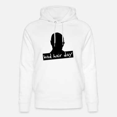 bad hair day 2 - Unisex Bio Hoodie