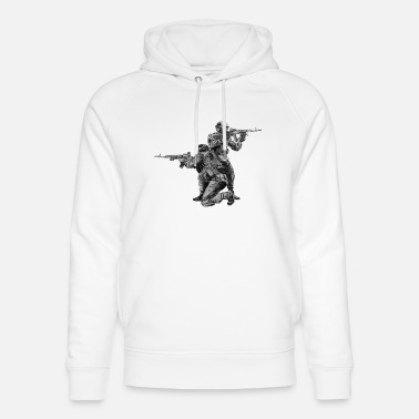 Special Forces Special Forces - Unisex luomu huppari