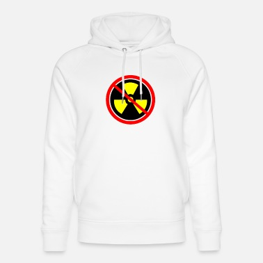 Castor Transport Anti nuclear power Nuclear power stations Nuclear energy Atomic energy - Unisex Organic Hoodie