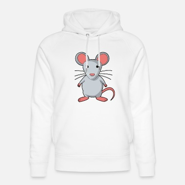Rodent Mouse rodent rat rodents - Unisex Organic Hoodie