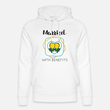 Hot Wife Cuckold Married With Benefits Swingers - Unisex Organic Hoodie