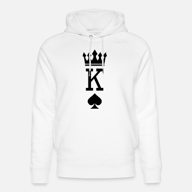 King Queen Partnerlook Couple Partner Paar Pärchen Familie - Unisex Bio Hoodie