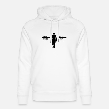 Computer Scientist Computer Programmer Coders Coffee Lovers - Unisex Organic Hoodie