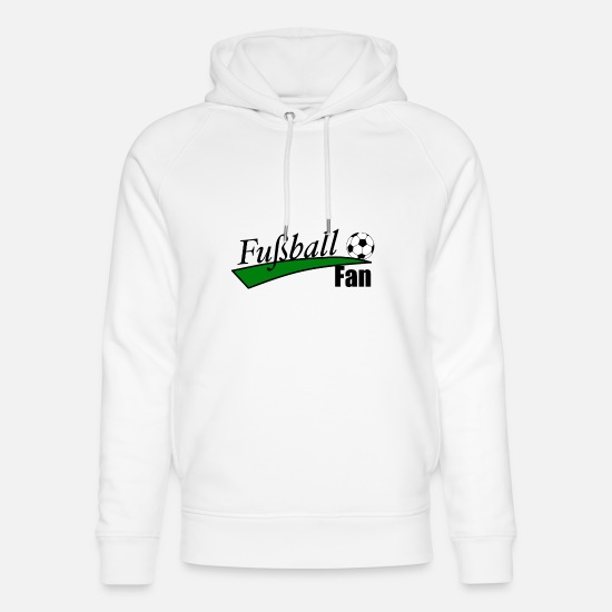 Stadium Hoodies & Sweatshirts - Football fan - Unisex Organic Hoodie white