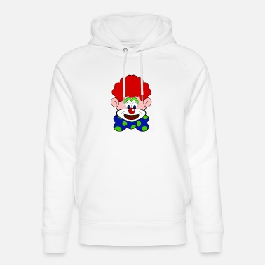 Enfant Clown Clown - Sweat à capuche bio unisexe