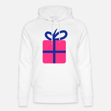Happy Birthday Happy Birthday Present - Sweat à capuche bio unisexe