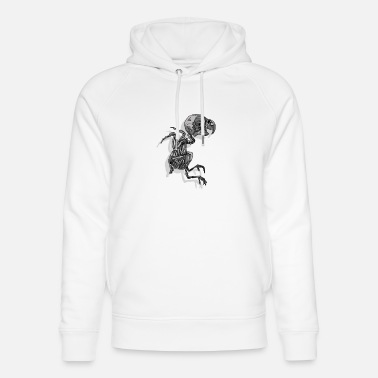 Black And White Collection V2 sparrow - Unisex Organic Hoodie