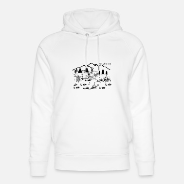 I belong to the Earth - Unisex Organic Hoodie