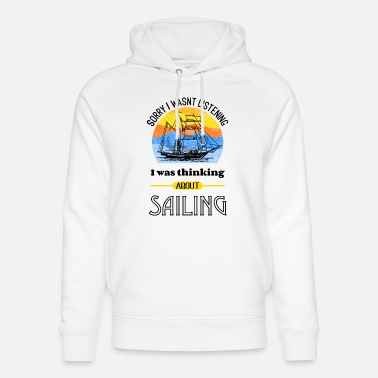 Strike Cheerful sailor saying - Unisex Organic Hoodie
