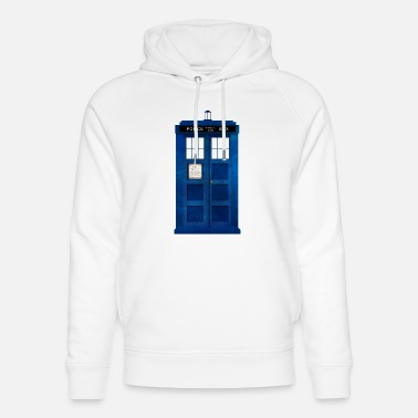 Doctor Doctor Who Police Box - Unisex Organic Hoodie