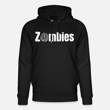 Zombie Zombies zombier - Unisex hoodie af økologisk bomuld