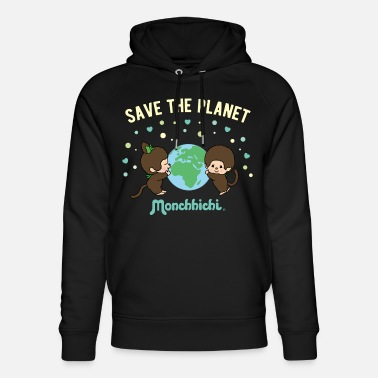 Monchhichi Save The Planet - Unisex Organic Hoodie