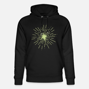 Explosion in the dark - Unisex Organic Hoodie