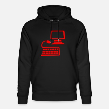 Office Life Computer office life - Unisex Organic Hoodie