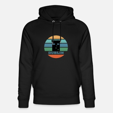 Europe Dublin City Skyline Ireland Landmark - Unisex Organic Hoodie