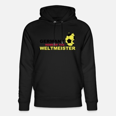 Soccer germany home of the weltmeister - Unisex Bio Hoodie