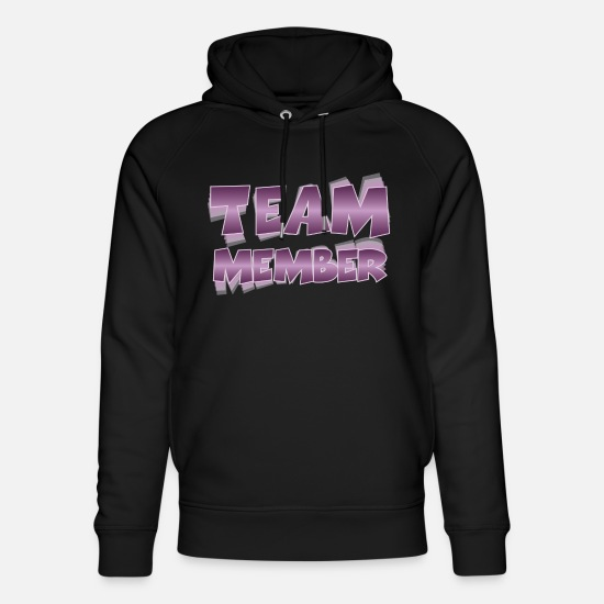 Alcohol Hoodies & Sweatshirts - Team Member - Unisex Organic Hoodie black