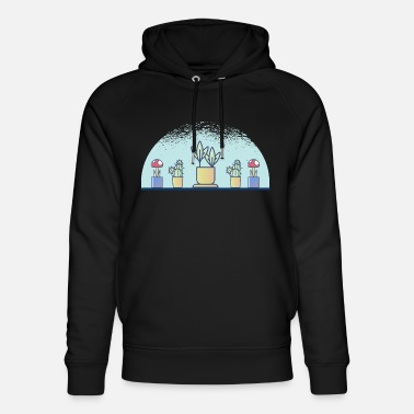 Plant Grounds plants - Unisex Organic Hoodie