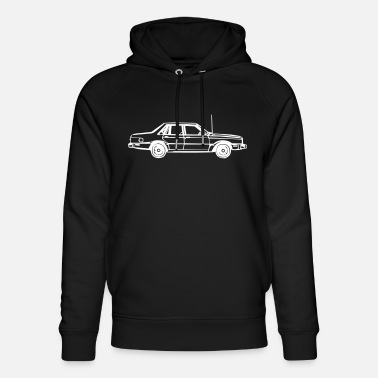 Antenna Car with an antenna - Unisex Organic Hoodie