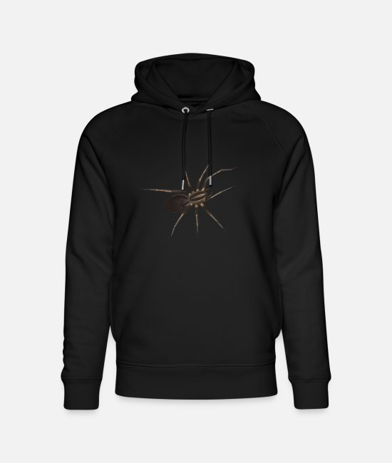 Friend Hoodies & Sweatshirts - Spider / spider - Unisex Organic Hoodie black