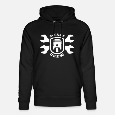 Simson Driver 2 stroke crew DDR moped piston wrench - Unisex Organic Hoodie
