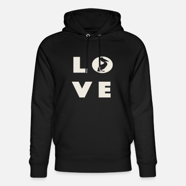 Pelican Bay Love with Pelican shirt - Unisex Organic Hoodie
